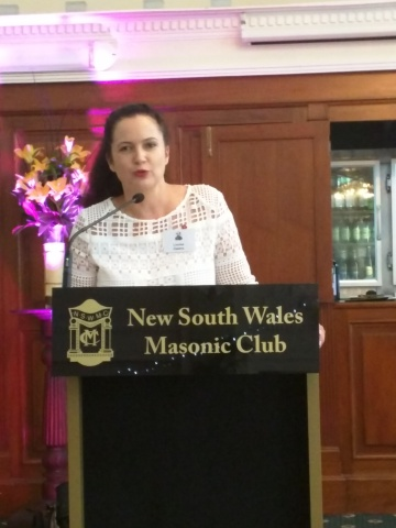 NSWDS President Louise Owens