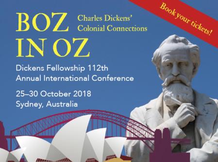 Dickens Boz in Oz banner