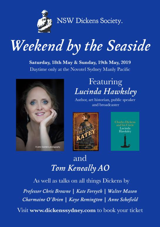 Lucinda Hawksley Dickens Weekend a5 Flyer